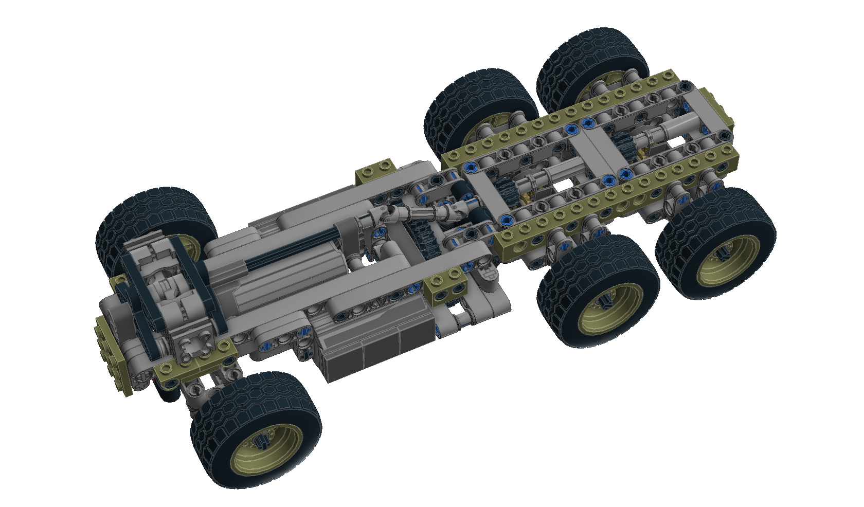 W08 Compact Truck Chassis No 6